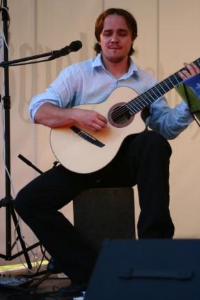 Andre Maaker Pärnu jahtklubis. 11. juuli 2012